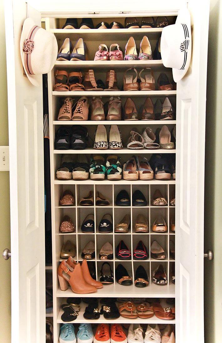 Стеллаж для хранения обуви