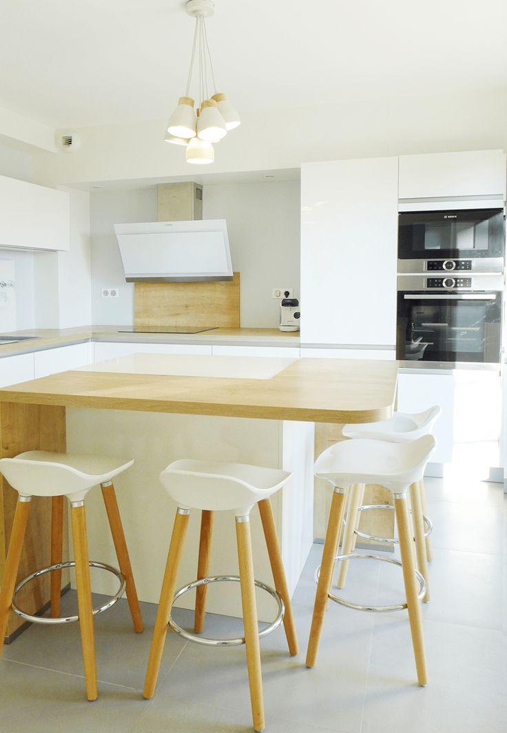 Кухня 14 кв. м в стиле минимализм