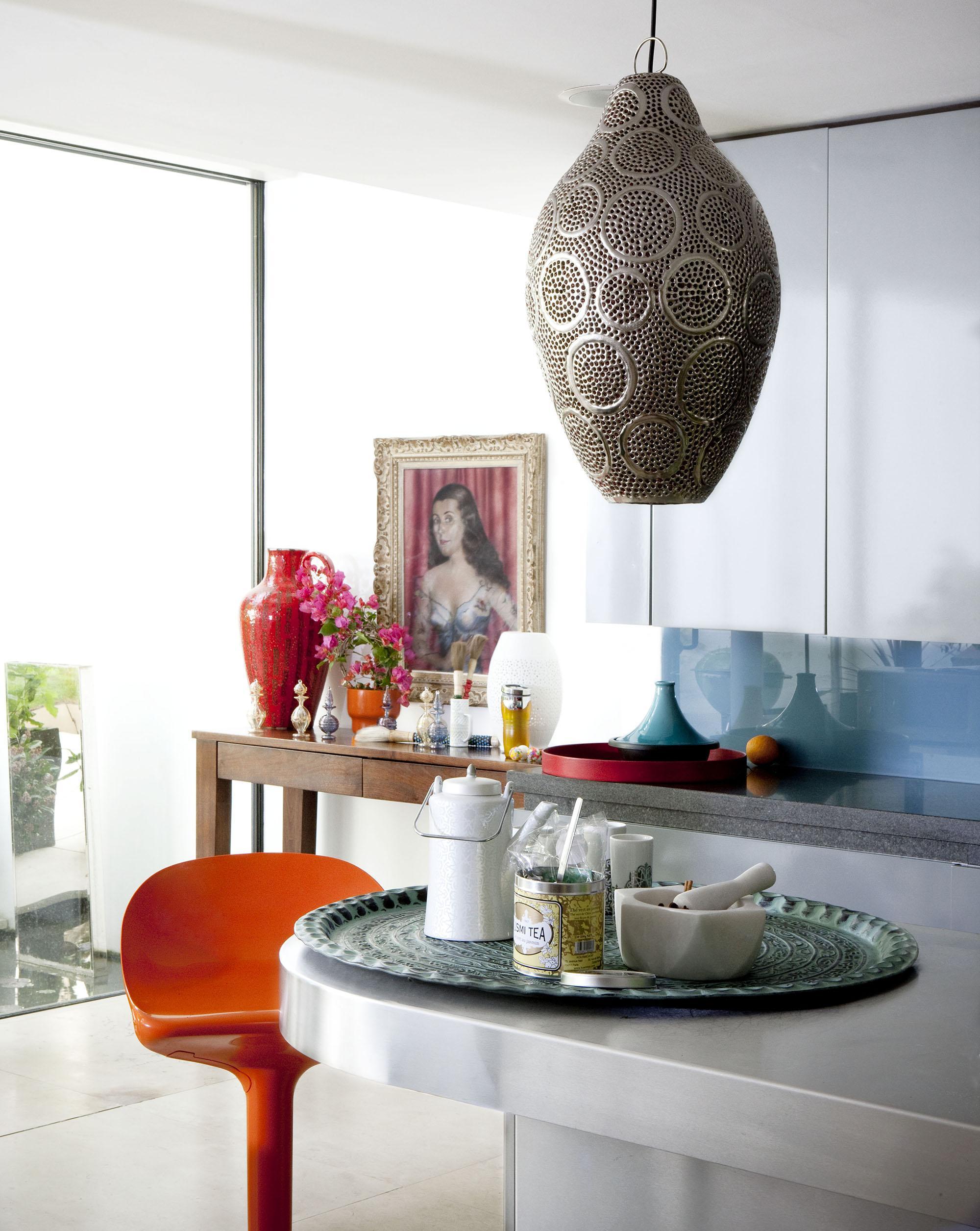 Кухня в бохо стиле