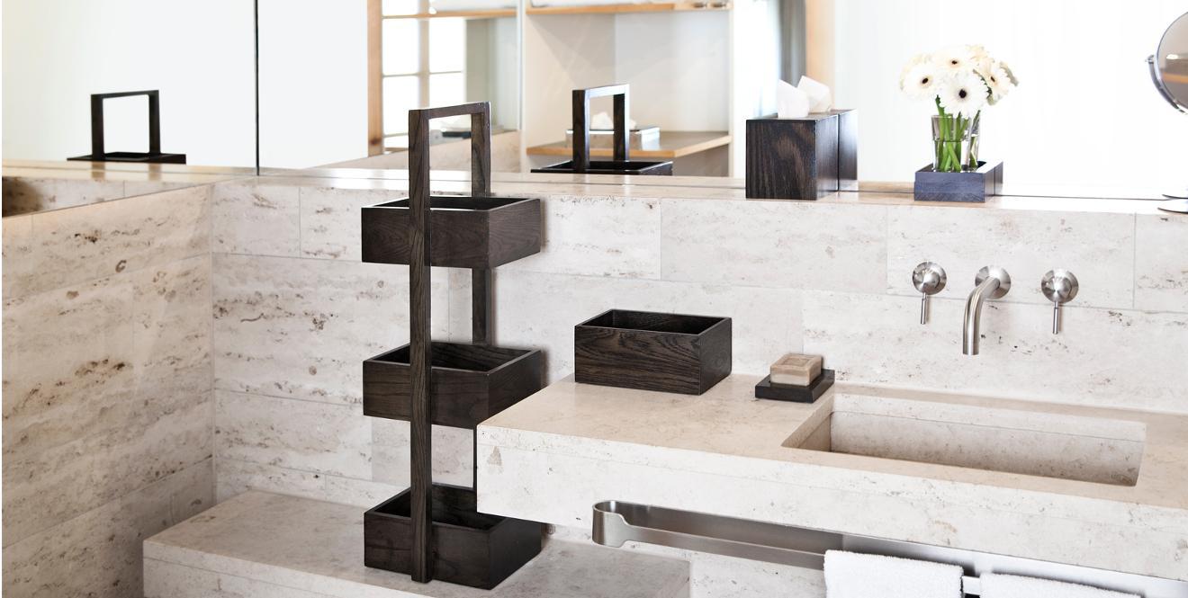 Камень в отделке ванной комнаты