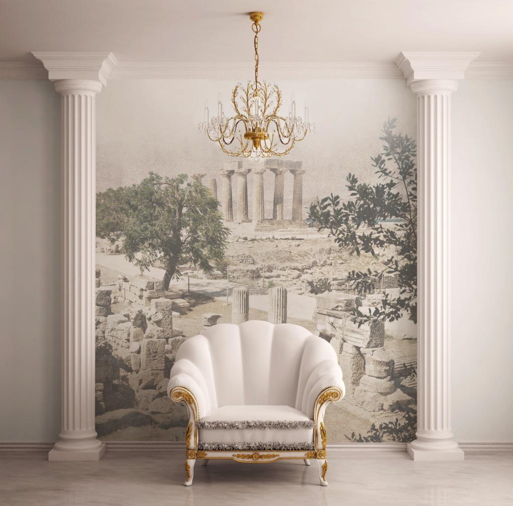 Декор из пенопласта в классическом стиле