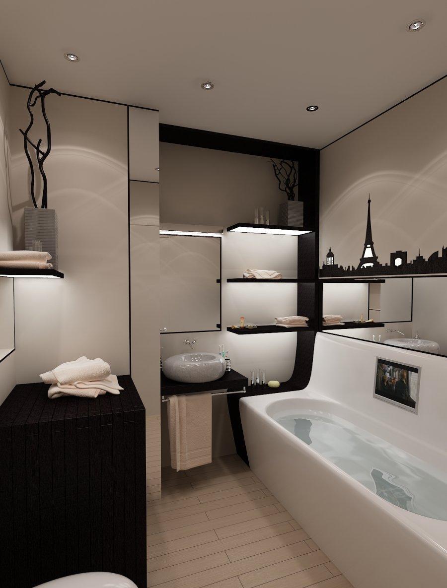 дизайн ванной комнаты 5 квадратных метров современные идеи