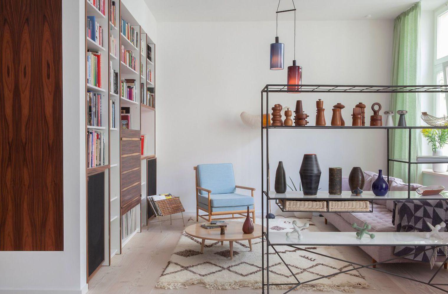 Стеллаж для гостиной дизайн