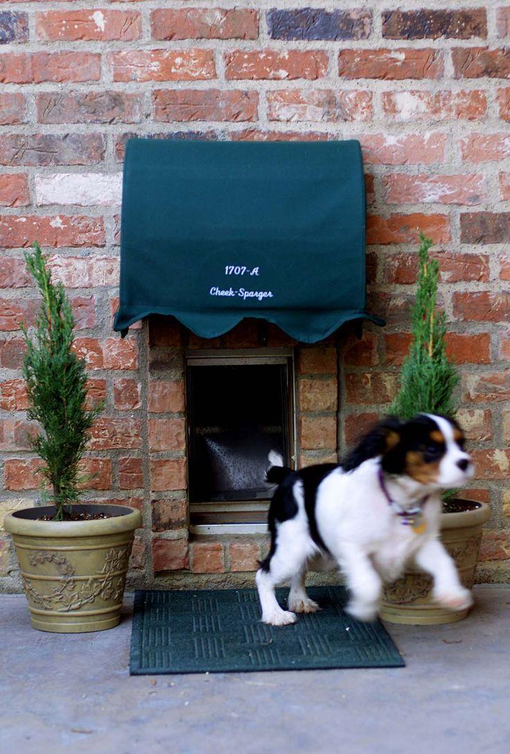 Будка для собаки из кирпича