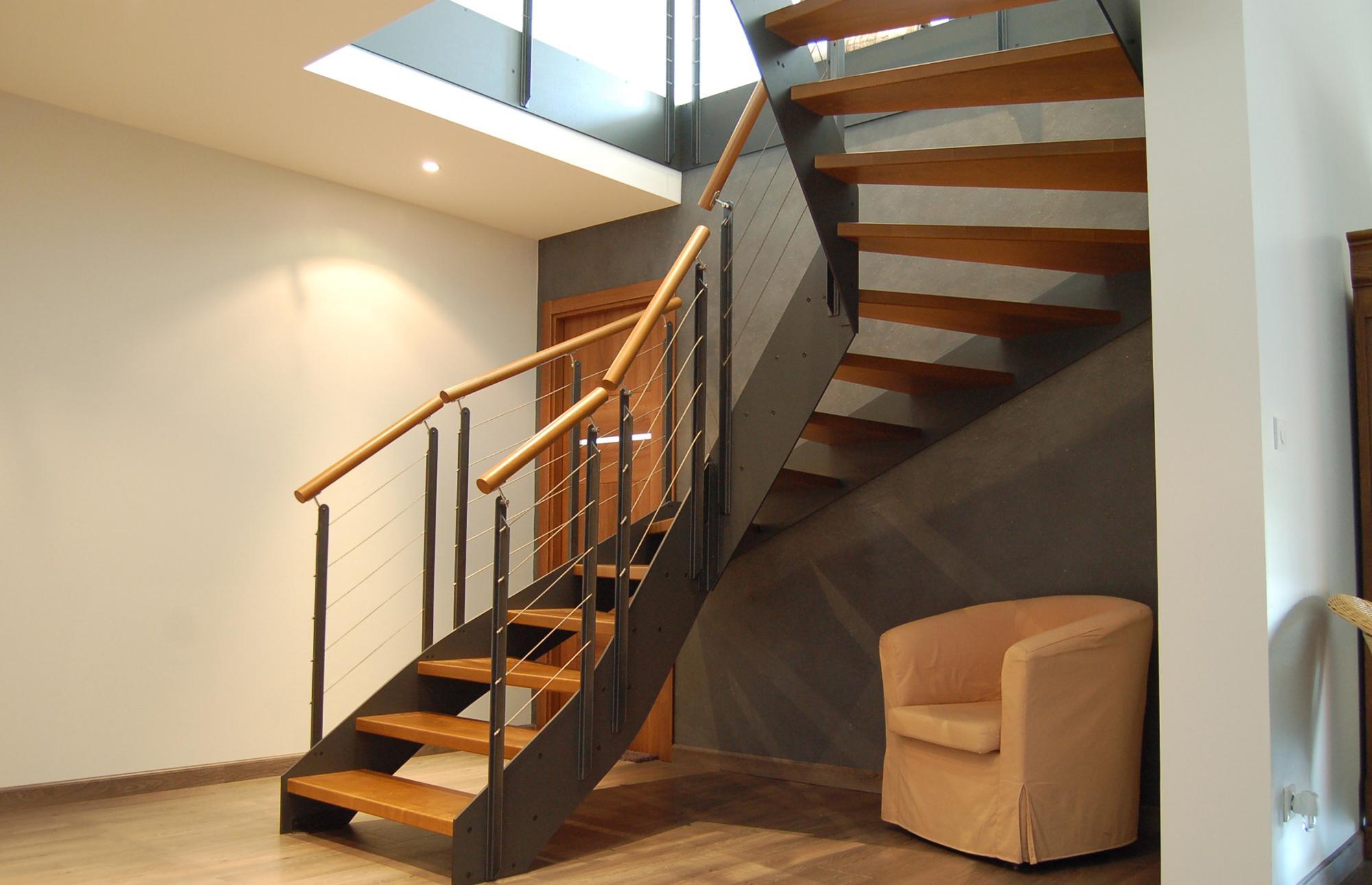 Больцевая поворотная лестница