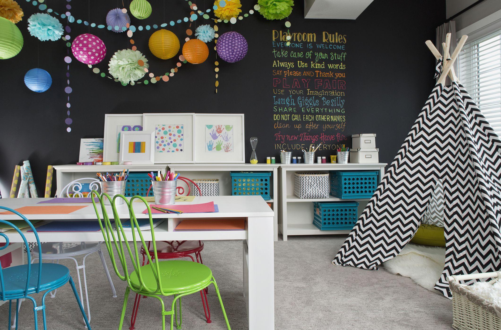 Детская комната в хрущевке в стиле модерн