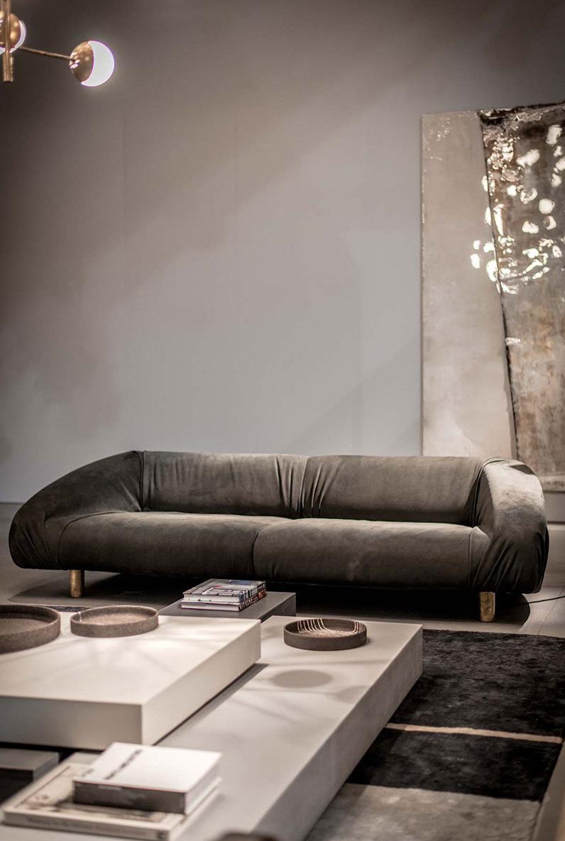 Дизайнерский диван в стиле лофт