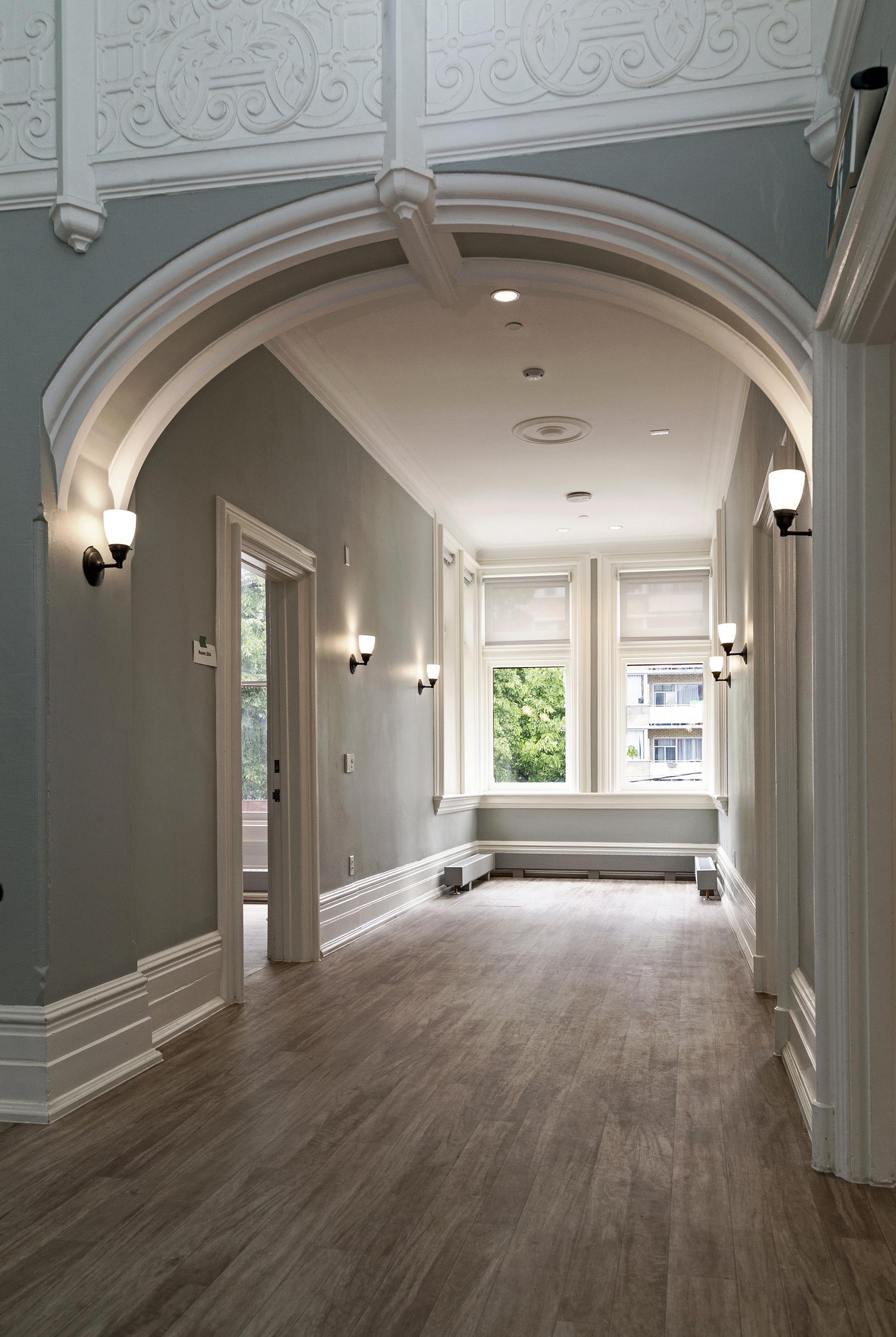 Ремонт и дизайн арки в коридоре