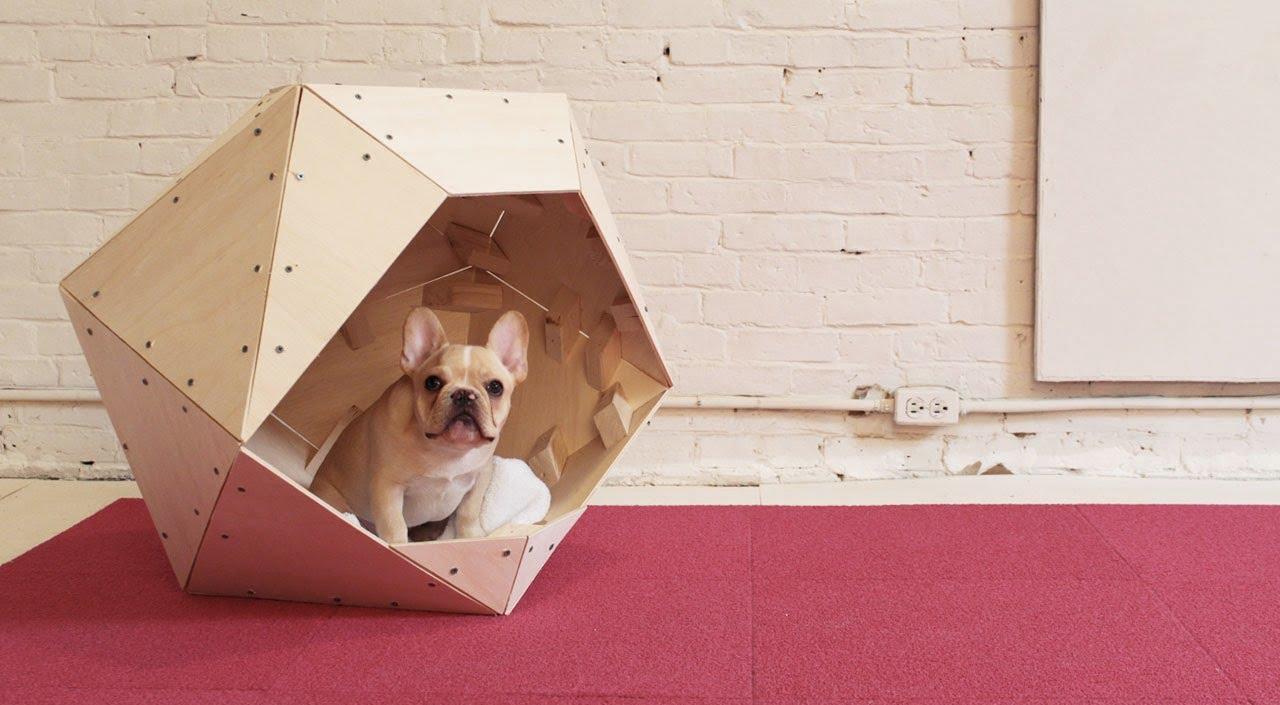 Будка для собаки из фанеры