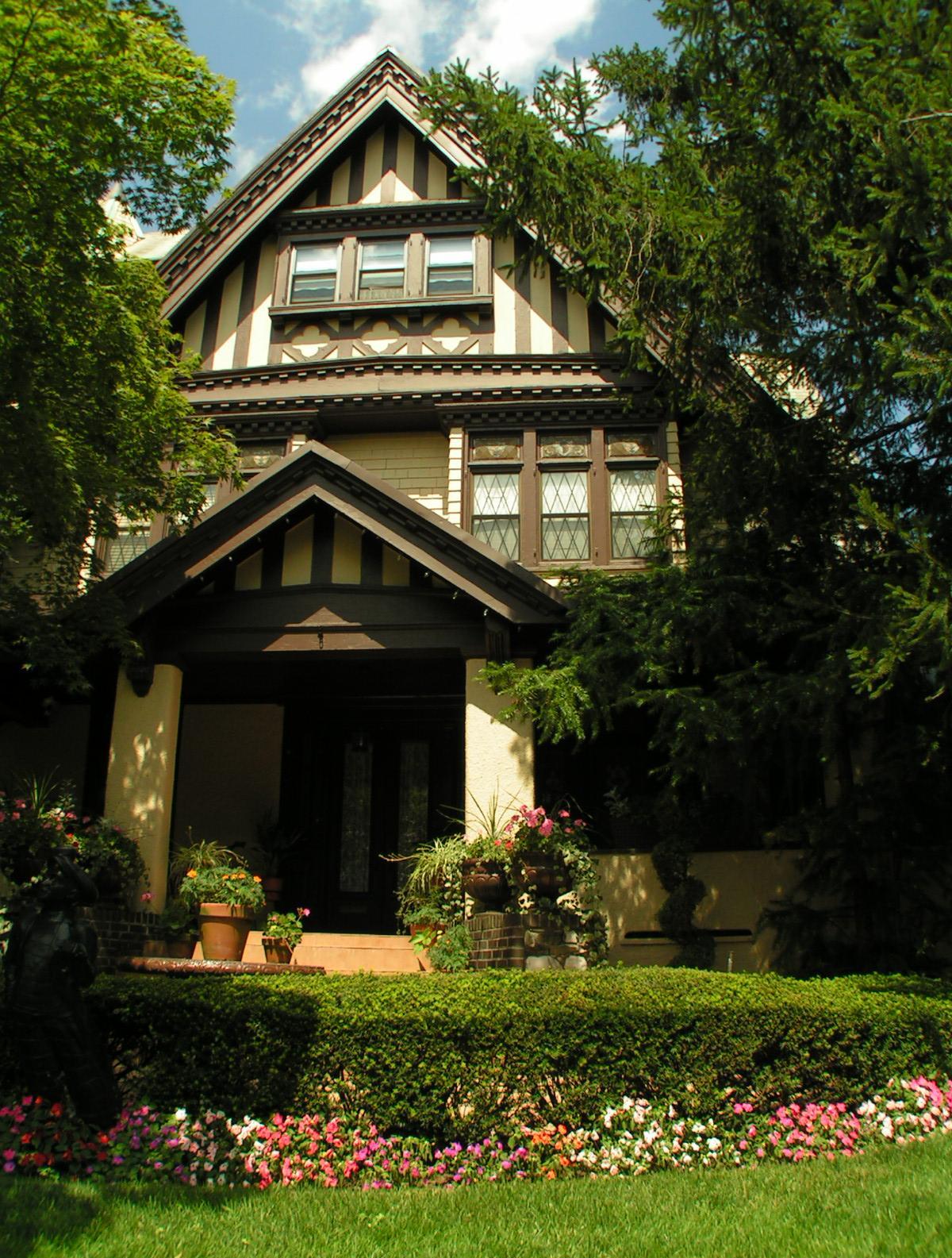 Деревянный дом в немецком стиле