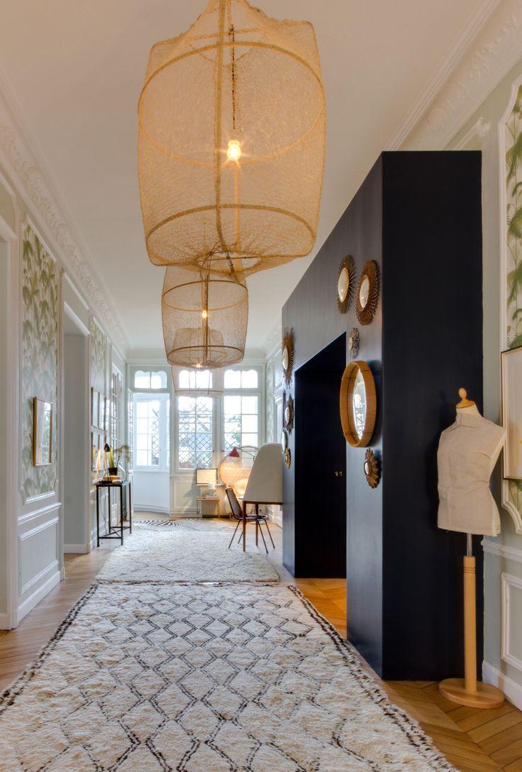 Дизайн коридора с аркой квадратной
