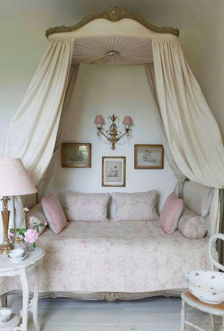 Балдахин над кроватью прованс