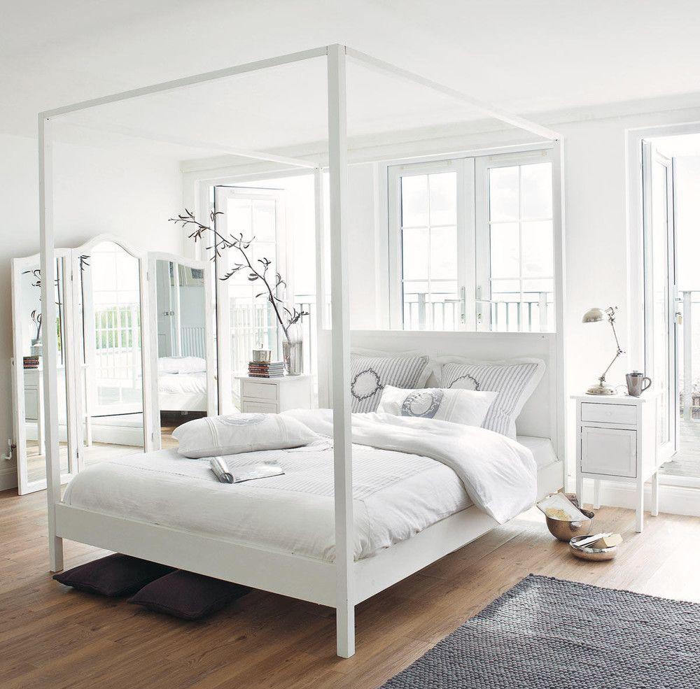 Балдахин над кроватью деревянной