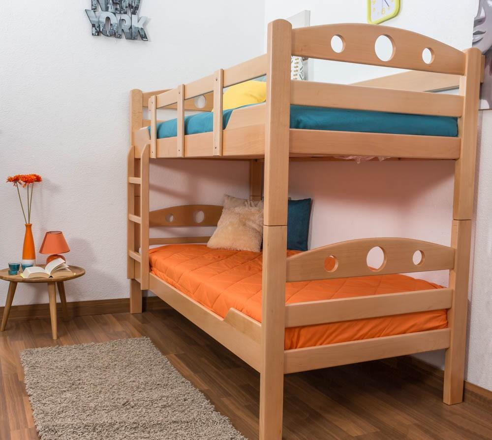 Двухъярусная детская кровать светлая