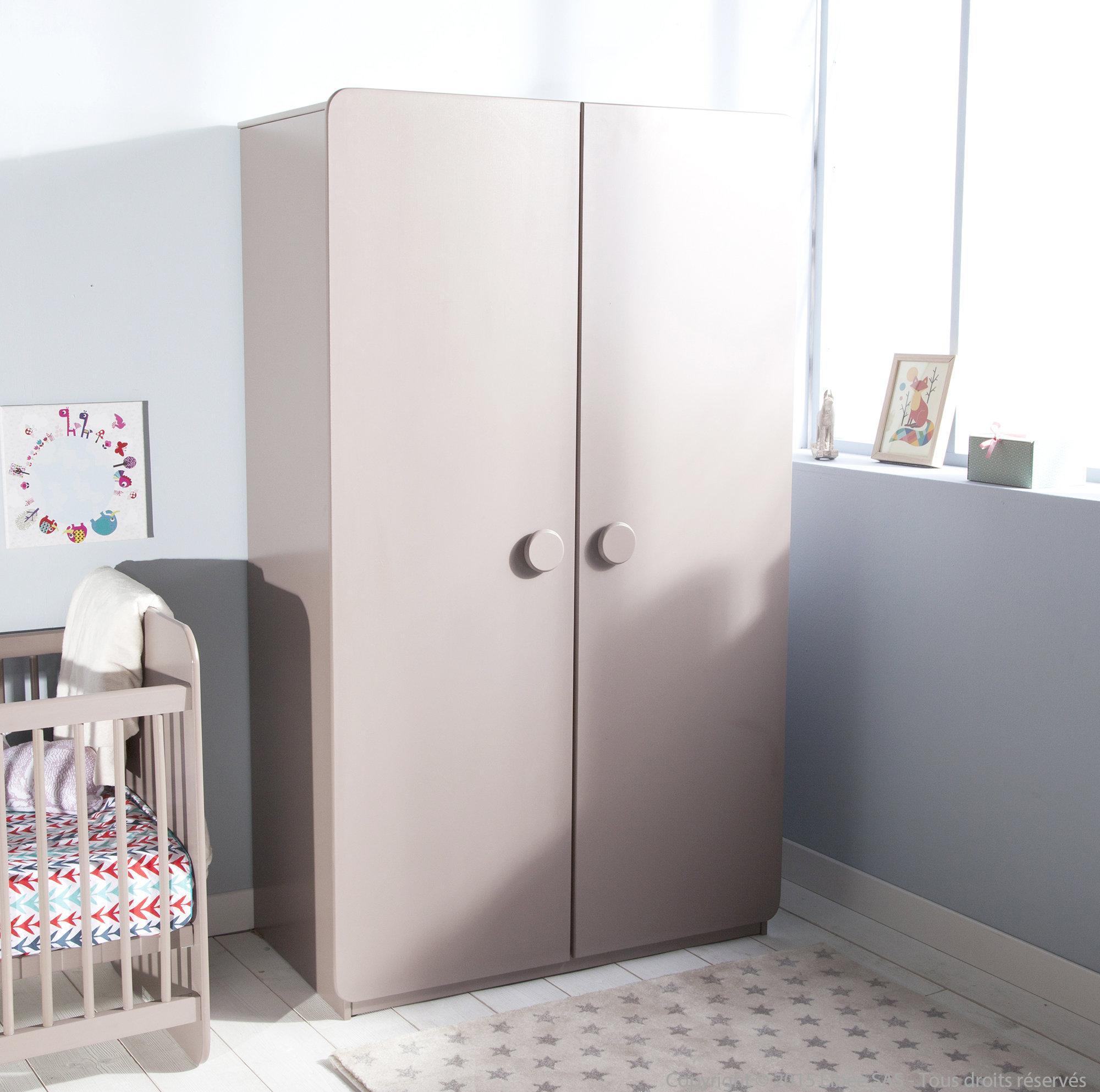 Эконом дизайн детской комнаты со шкафом