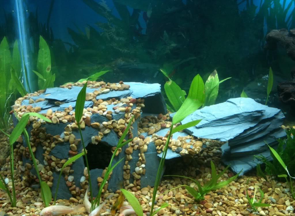 Декор для аквариума грот