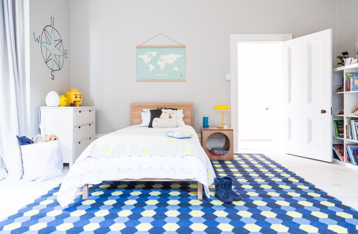 Детская комната в хрущевке в скандинавском стиле