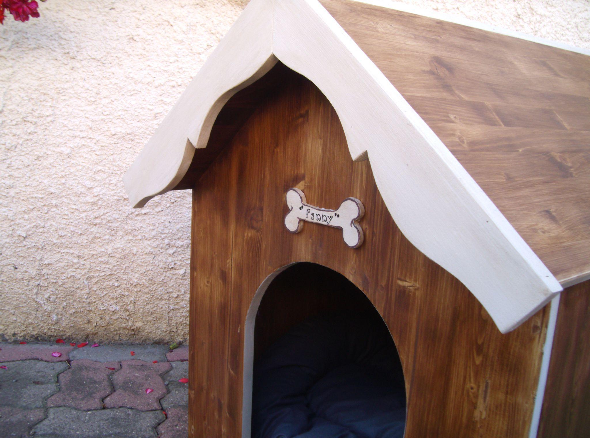 Будка для собаки крашеная