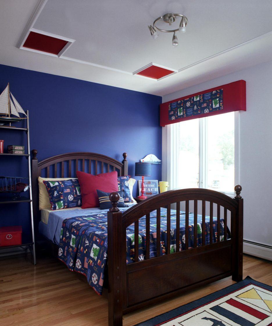 Дизайн комнаты для подростка в морском стиле