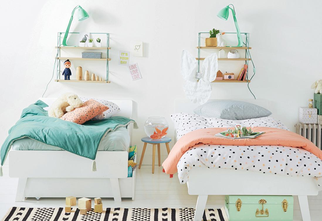 Эконом дизайн детской комнаты для двоих