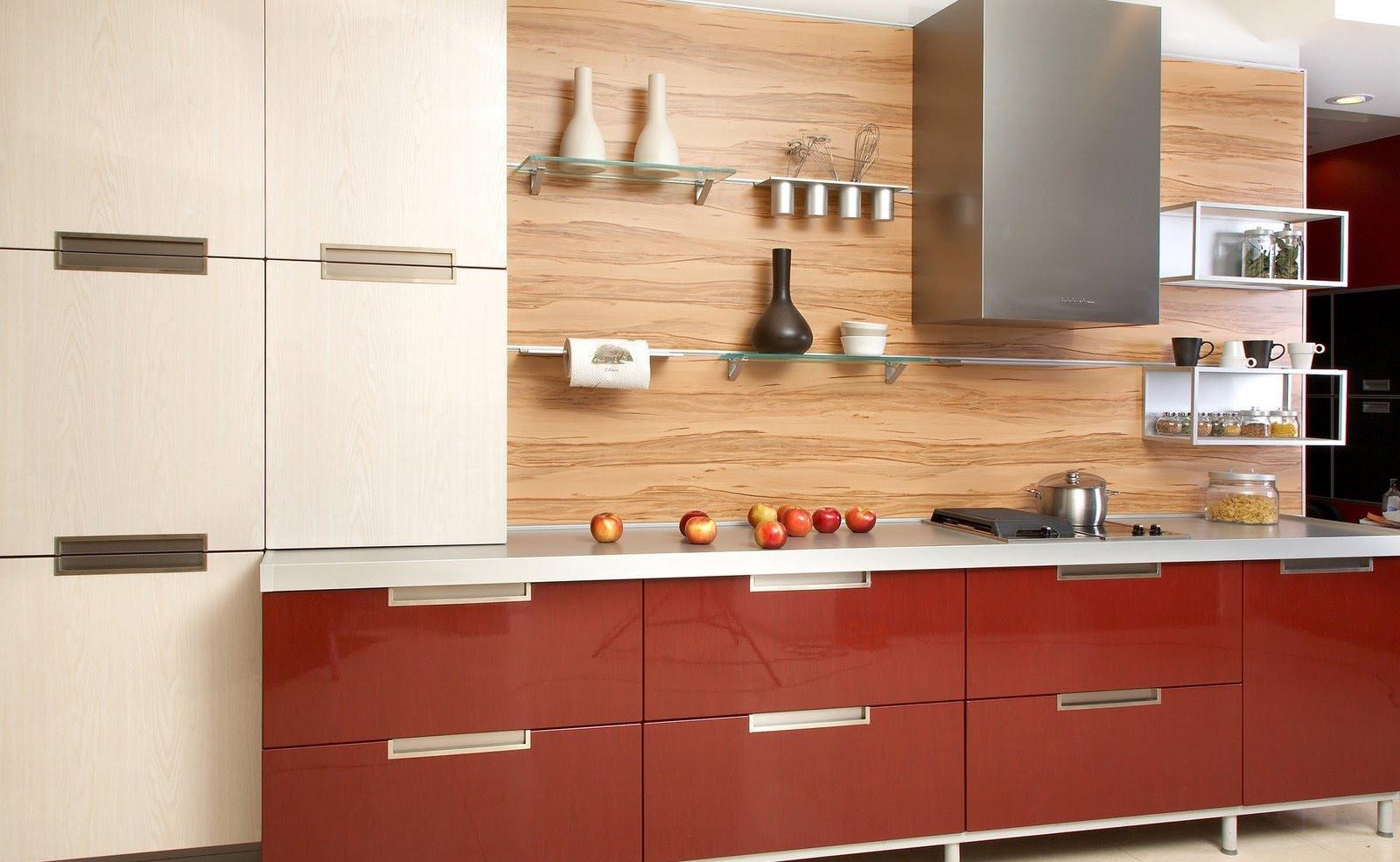 Современная дизайнерская кухня