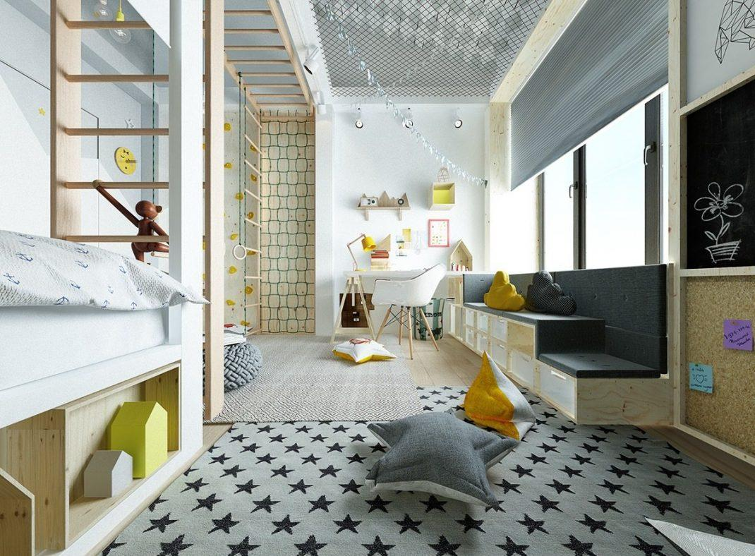 Эконом дизайн детской комнаты