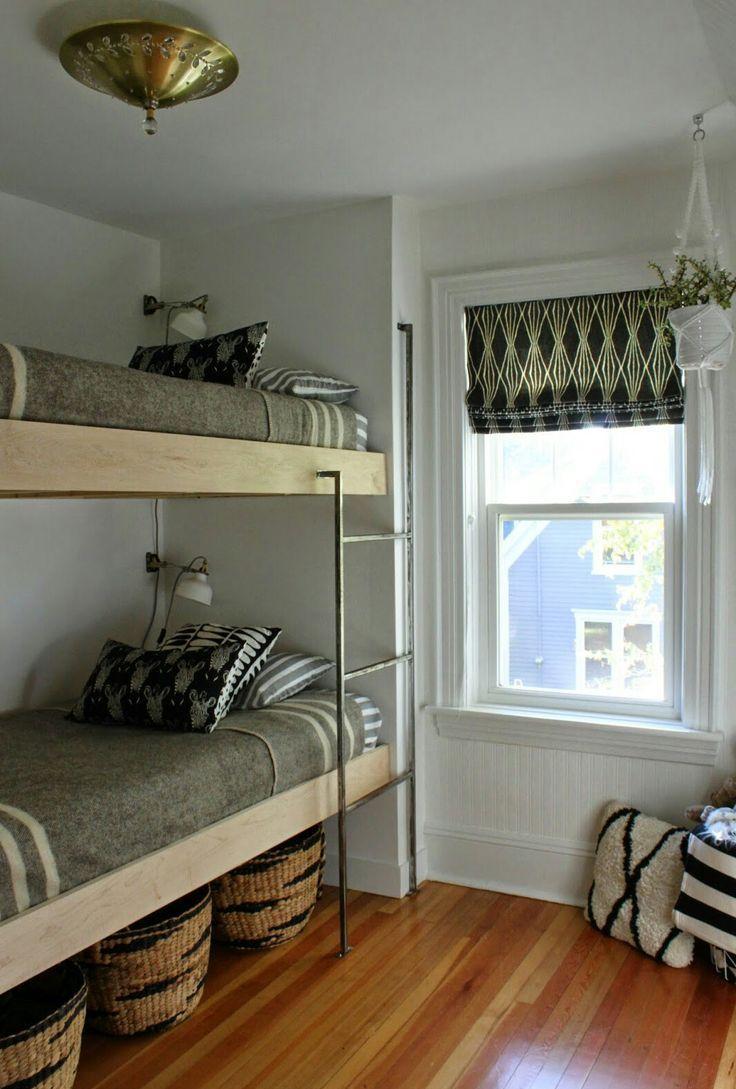 Двухъярусная детская кровать дизайн