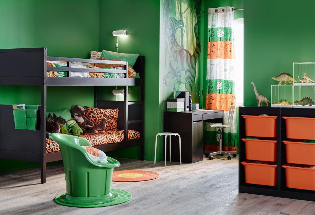 Детская комната в хрущевке венге