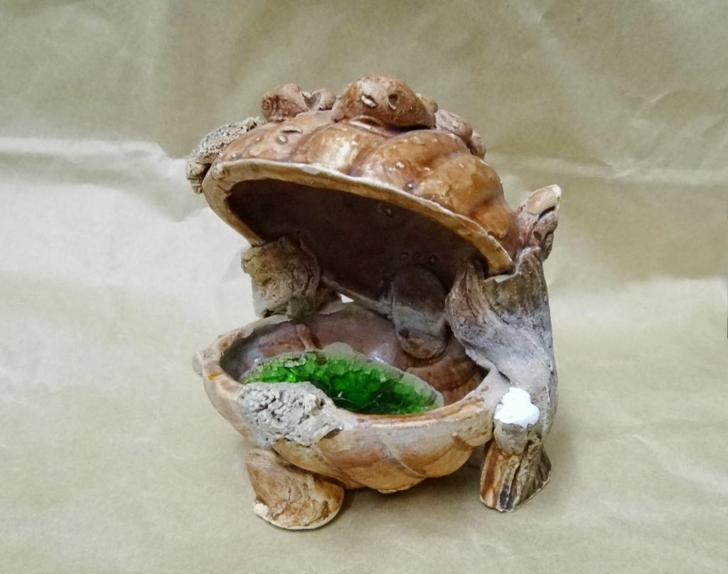 Декоративная ракушка для аквариума