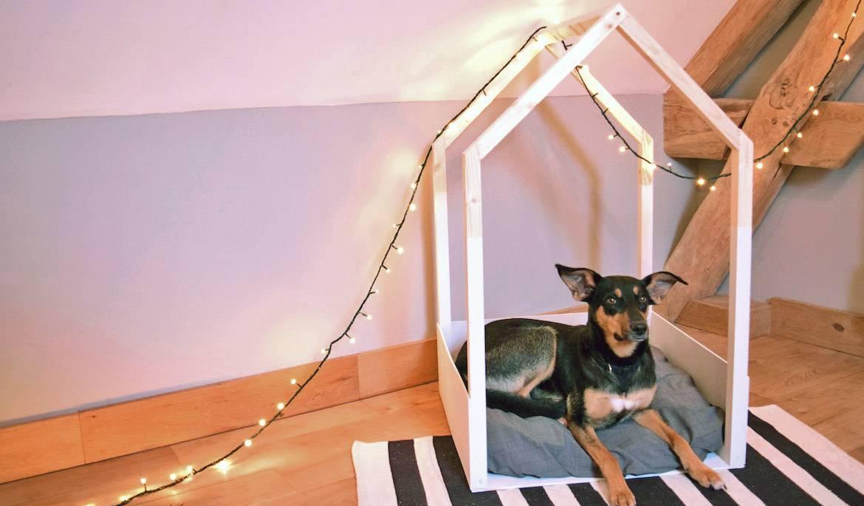 Будка лежанка для собаки