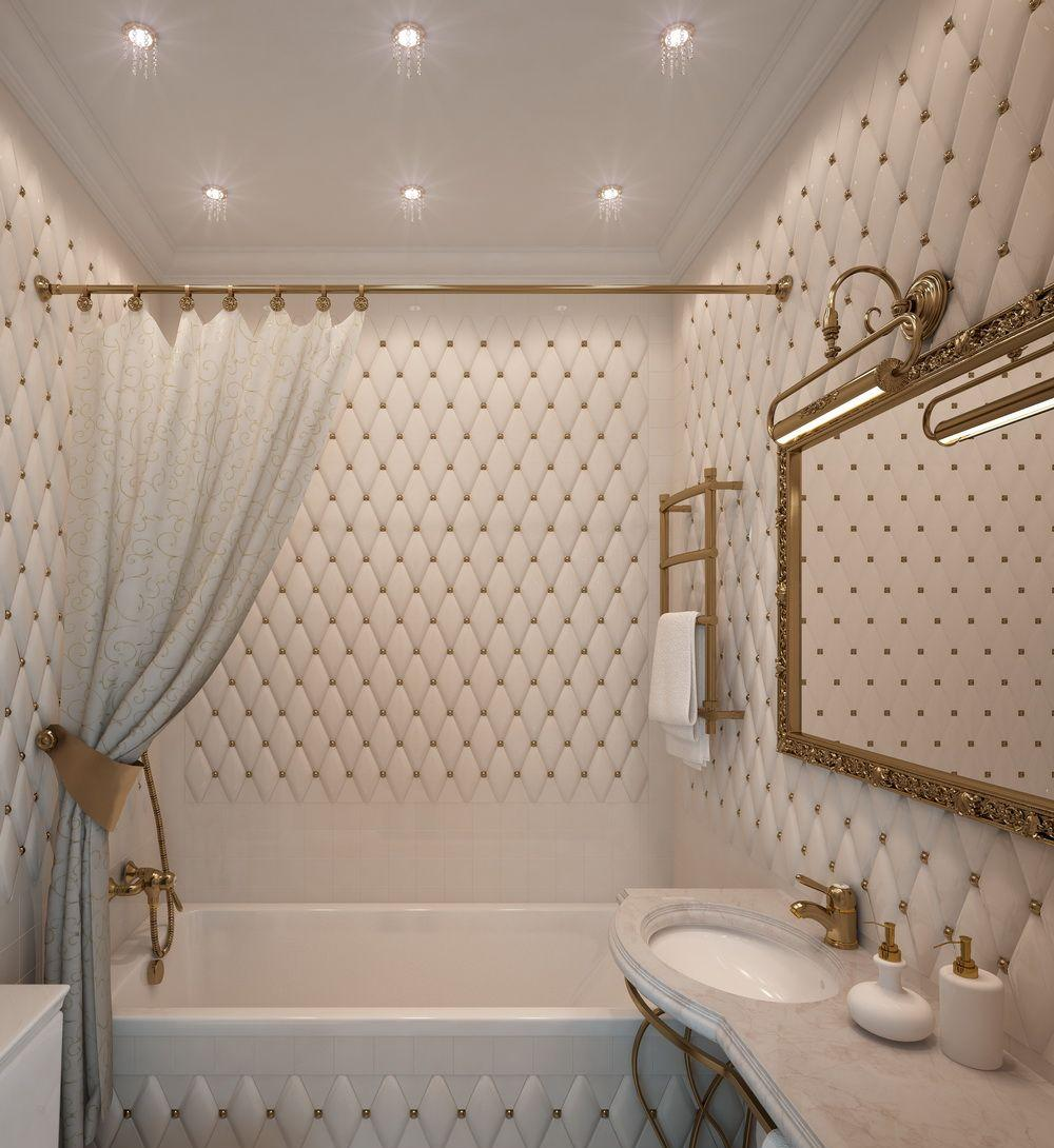 Классическая ванная без унитаза