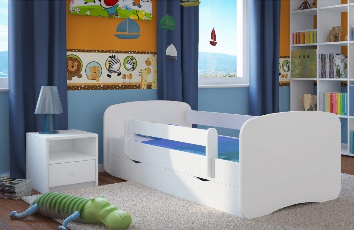 Детская кровать из МДФ с бортиками