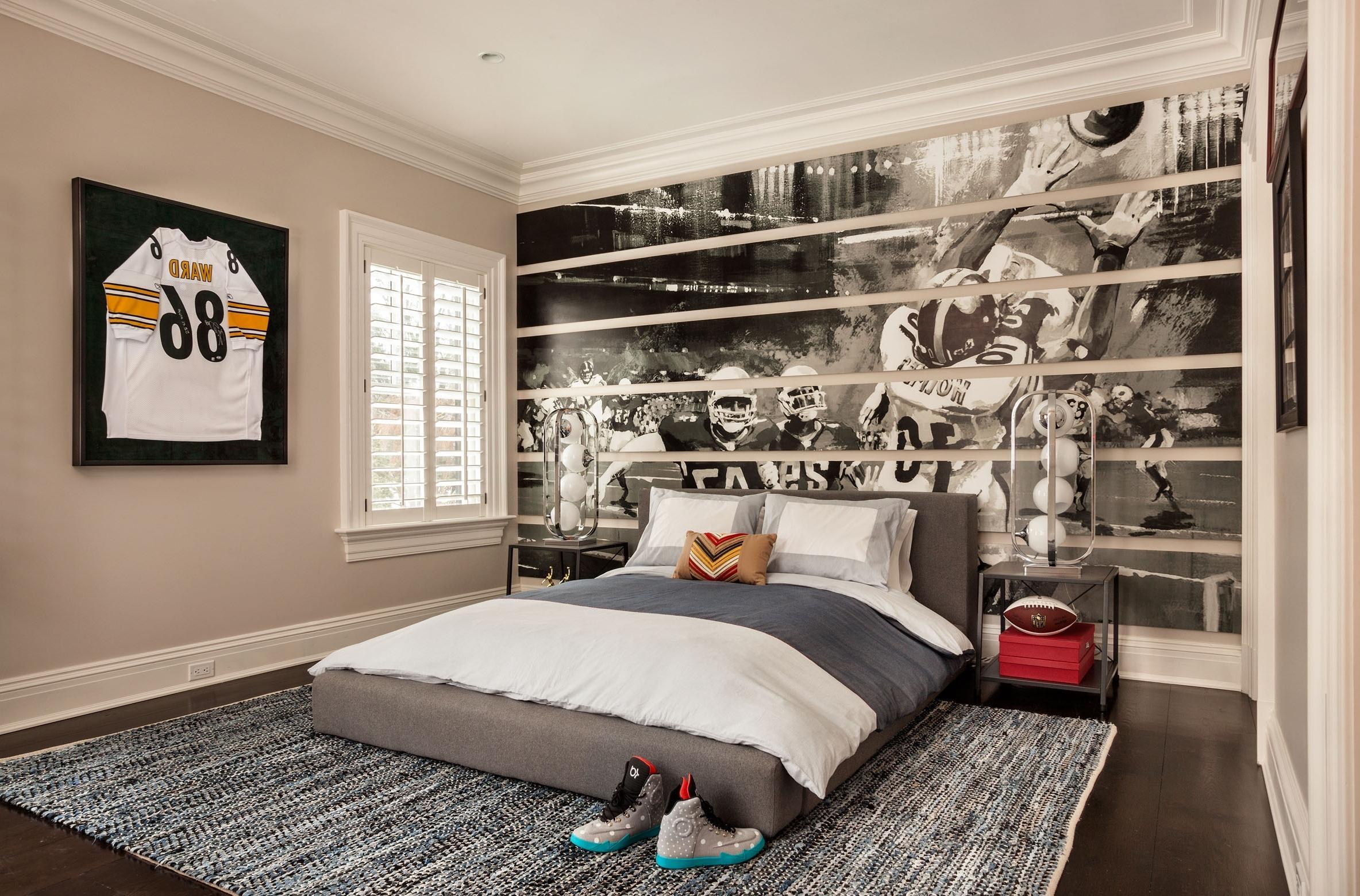 Дизайн комнаты для подростка с фотообоями