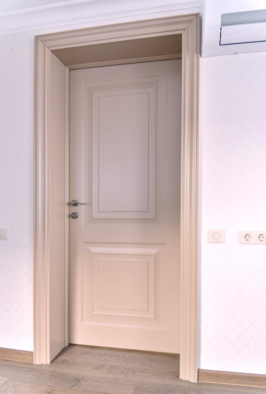 Глухая дверь капучино