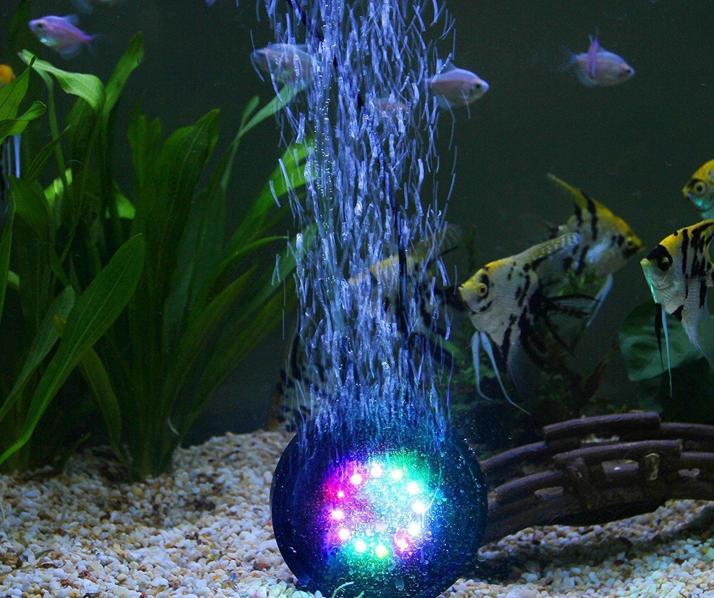 Декор для аквариума с подсветкой