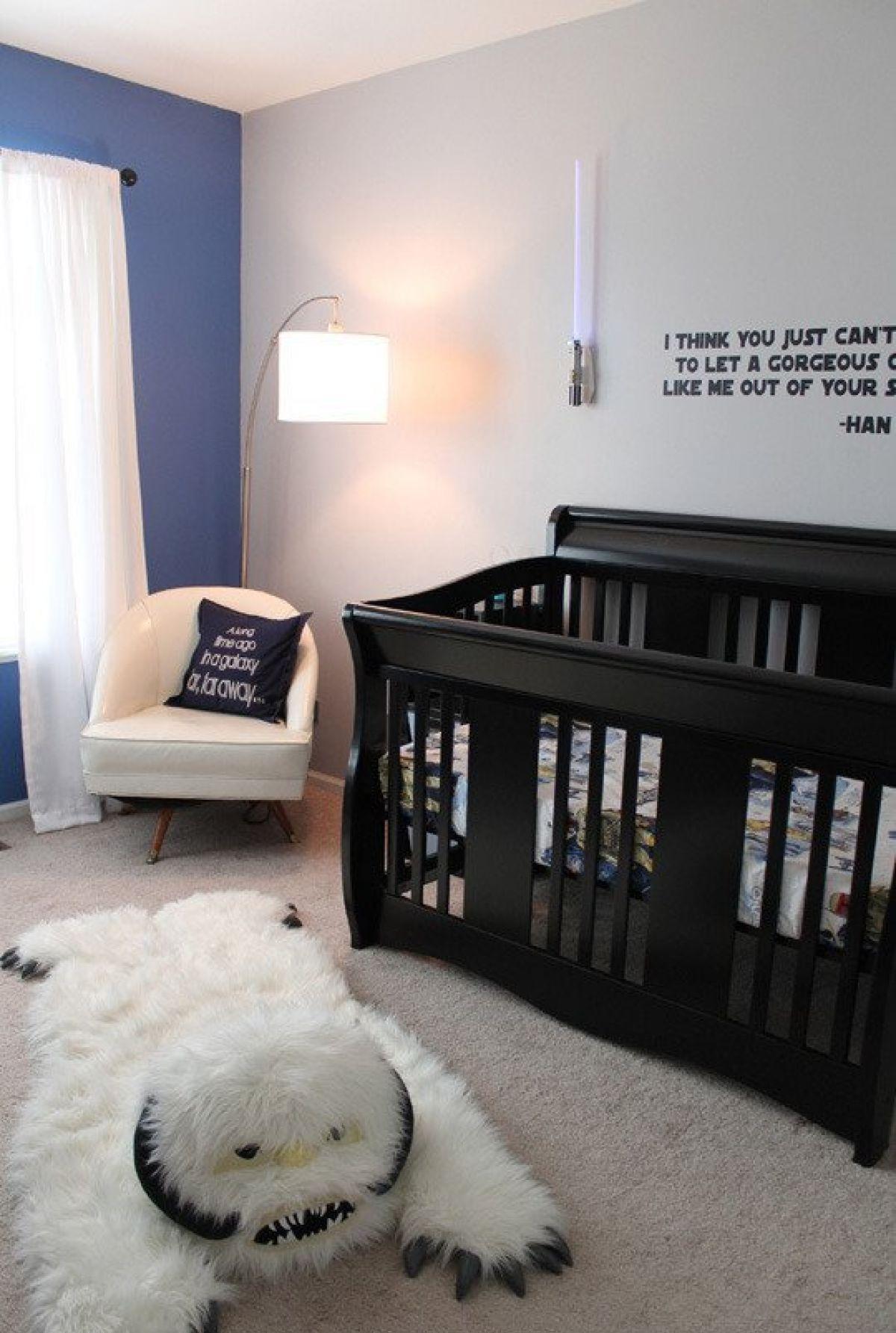 Детская комната в хрущевке для малыша