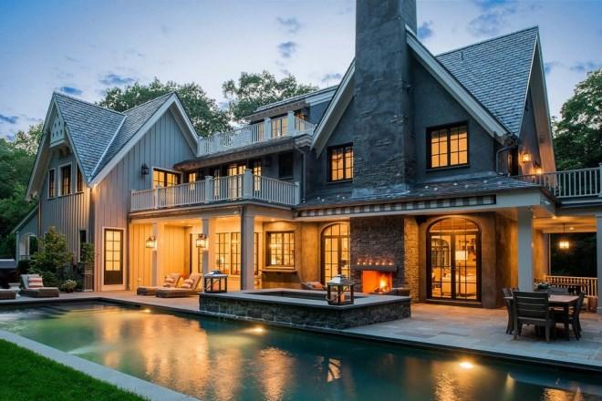 Американская классика в современной загородной архитектуре