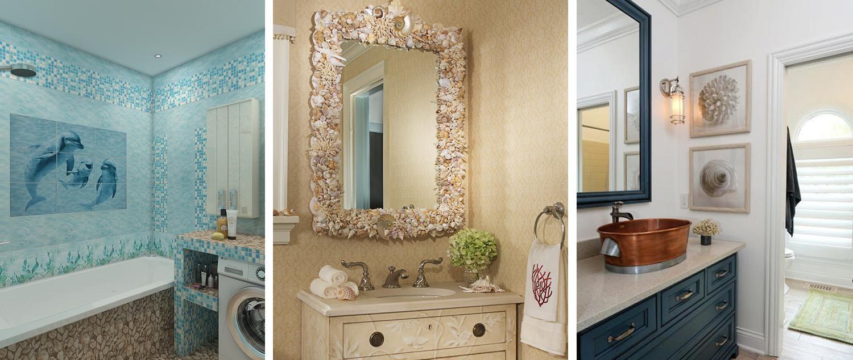 Варианты декора ванной с зеркалами