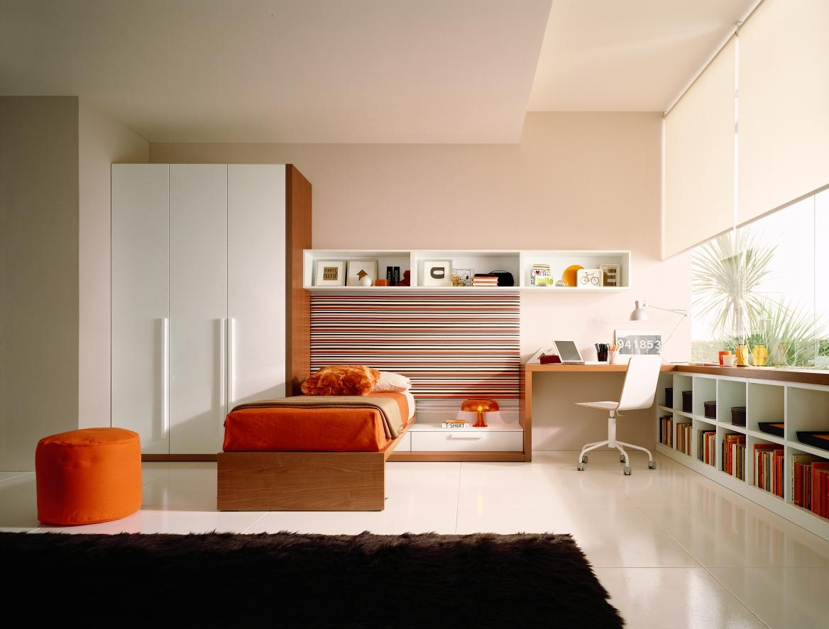 Дизайн комнаты для подростка в стиле модерн