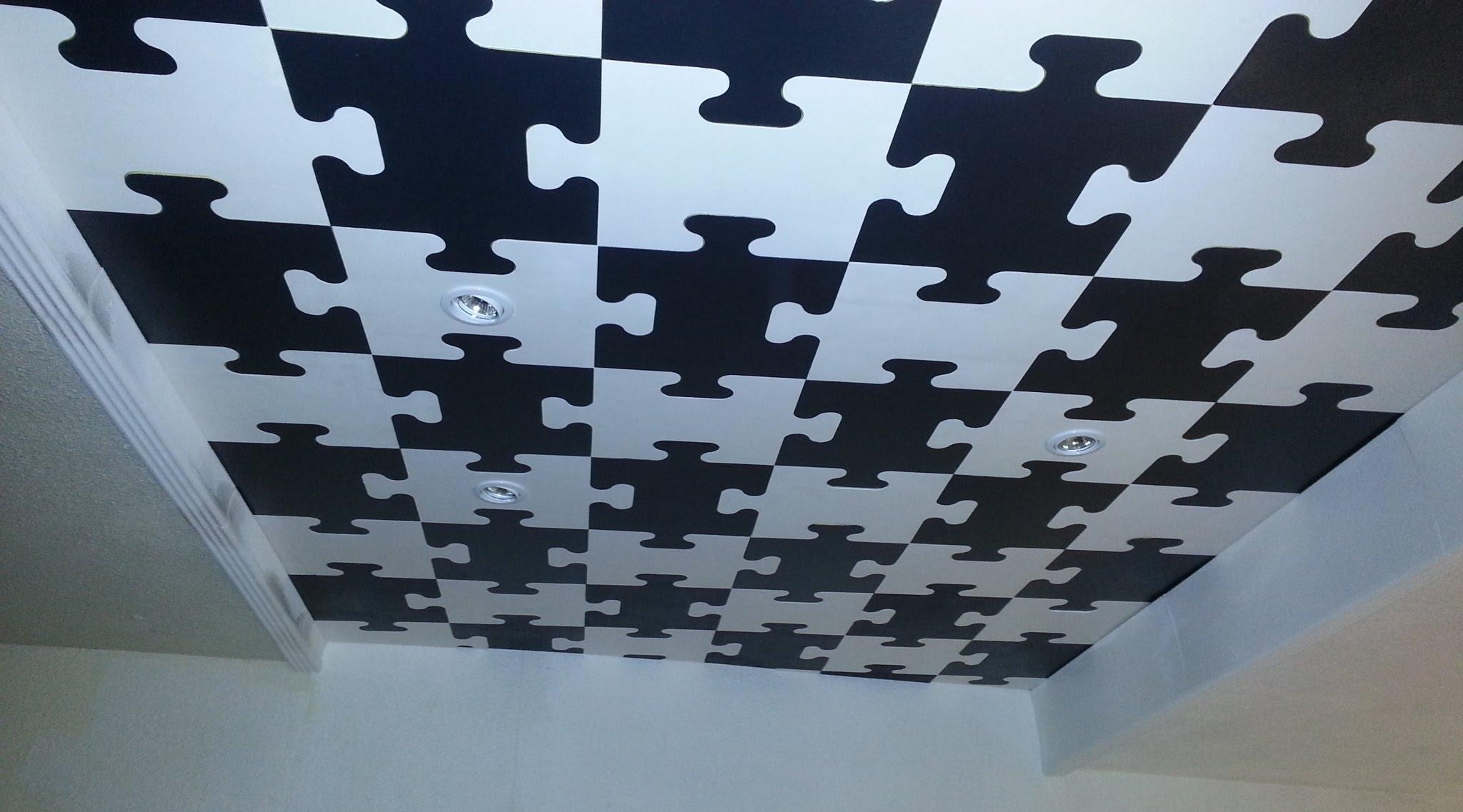 Плитка из пенопласта потолочная