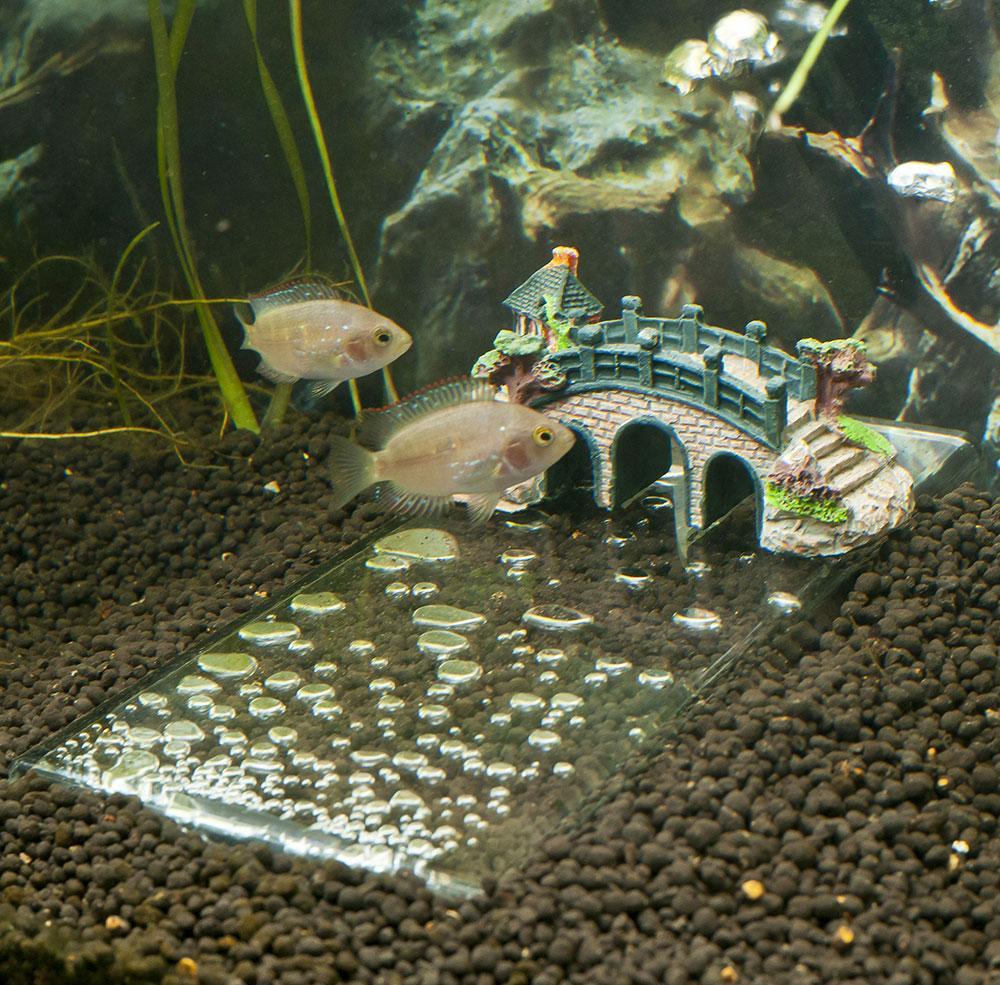 Декоративный мостик для аквариума