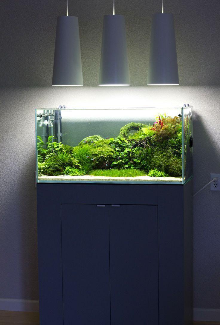 Декоративное освещение аквариума