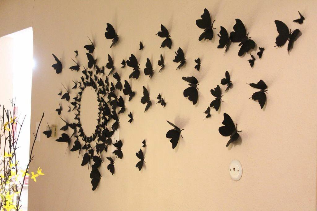 Украшаем квартиру бабочками - просто и эффектно!