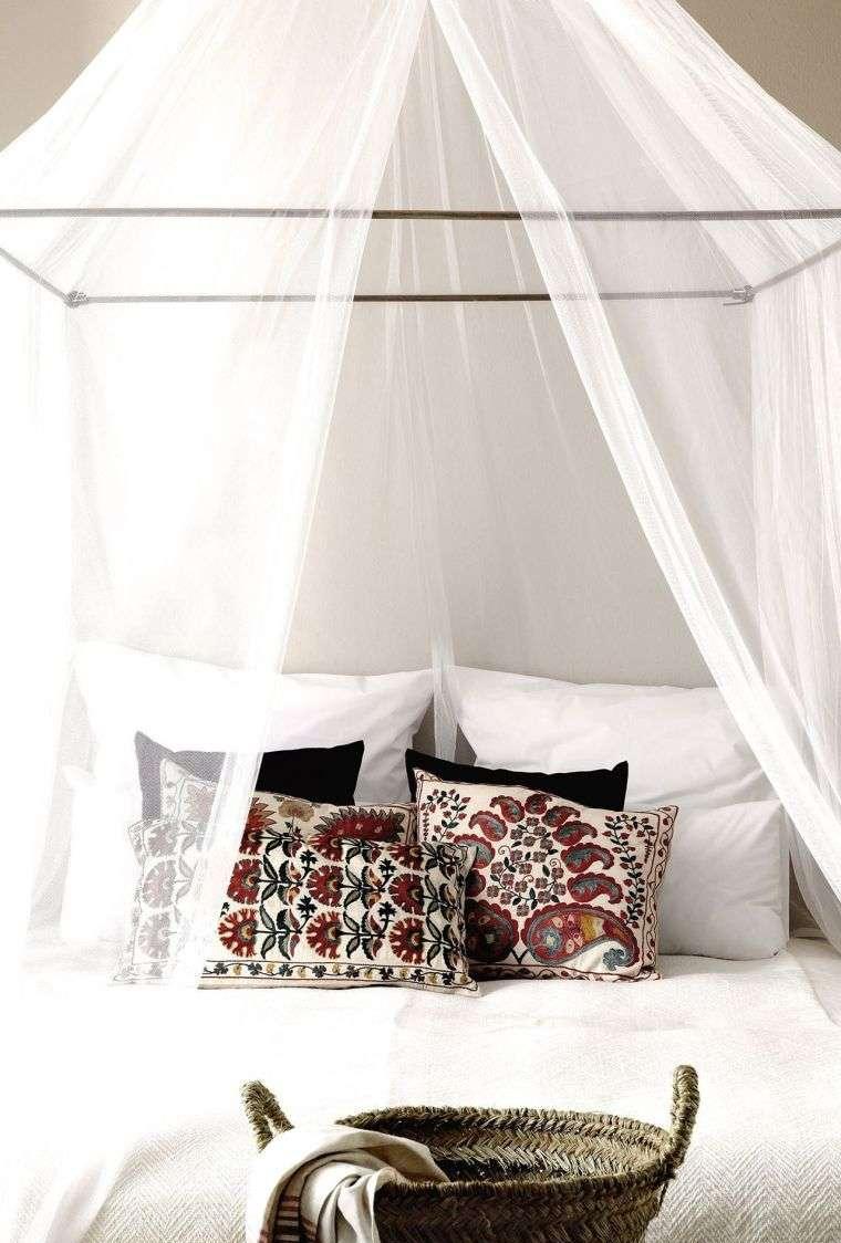 Балдахин над кроватью прозрачный