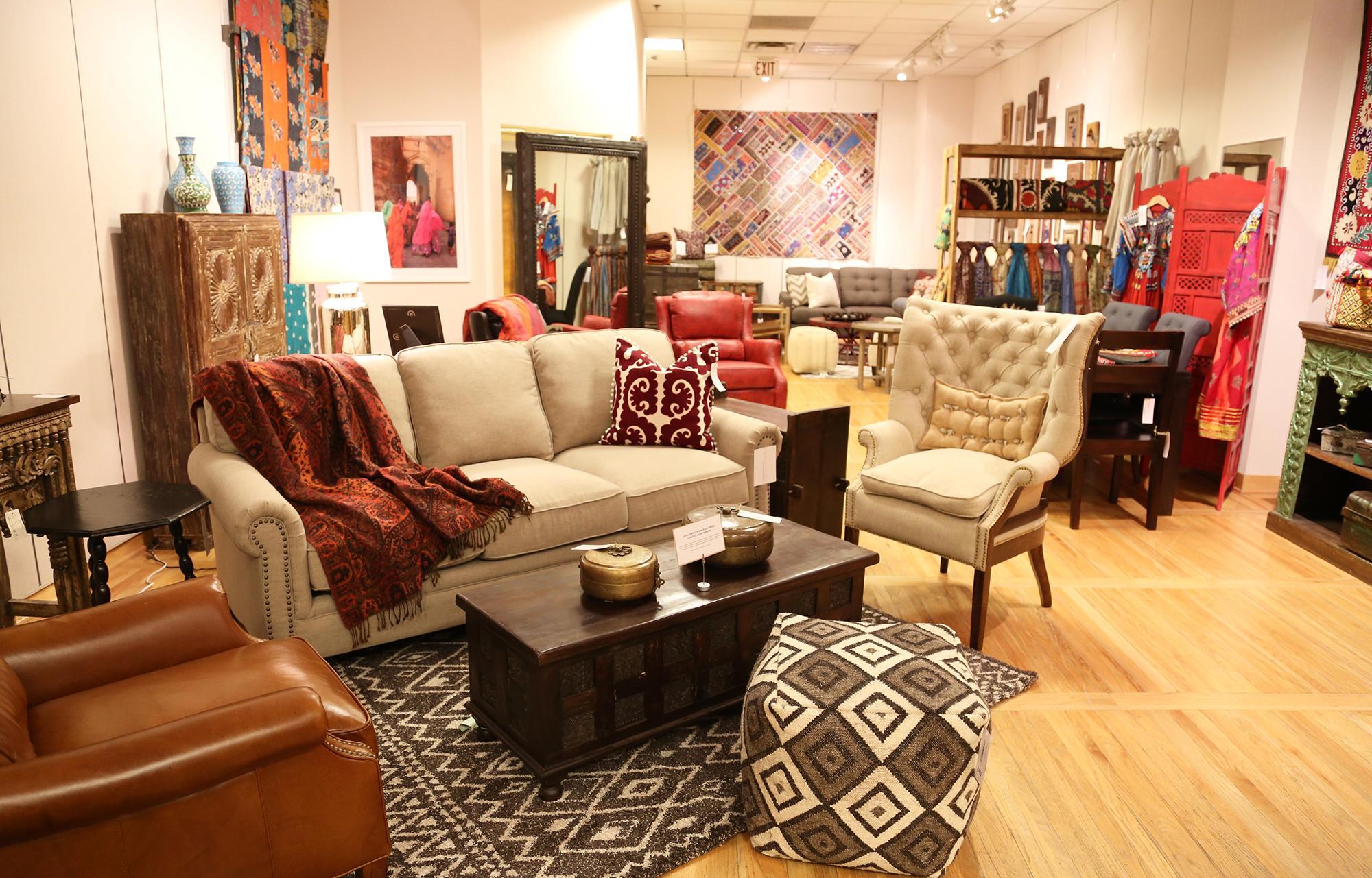 Красивая мебель для создания интерьера в стиле бохо
