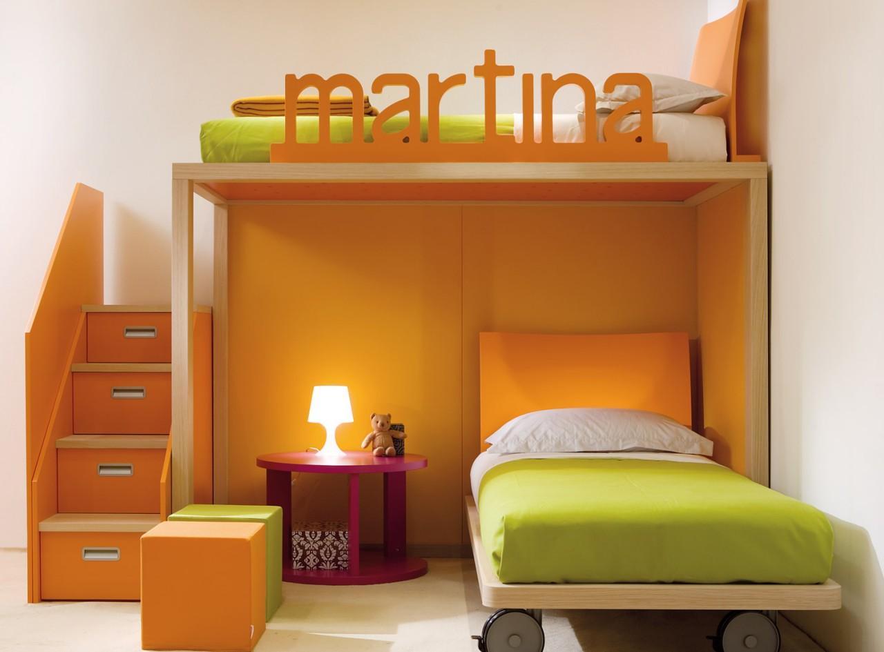 Детская кровать с декоративными бортиками