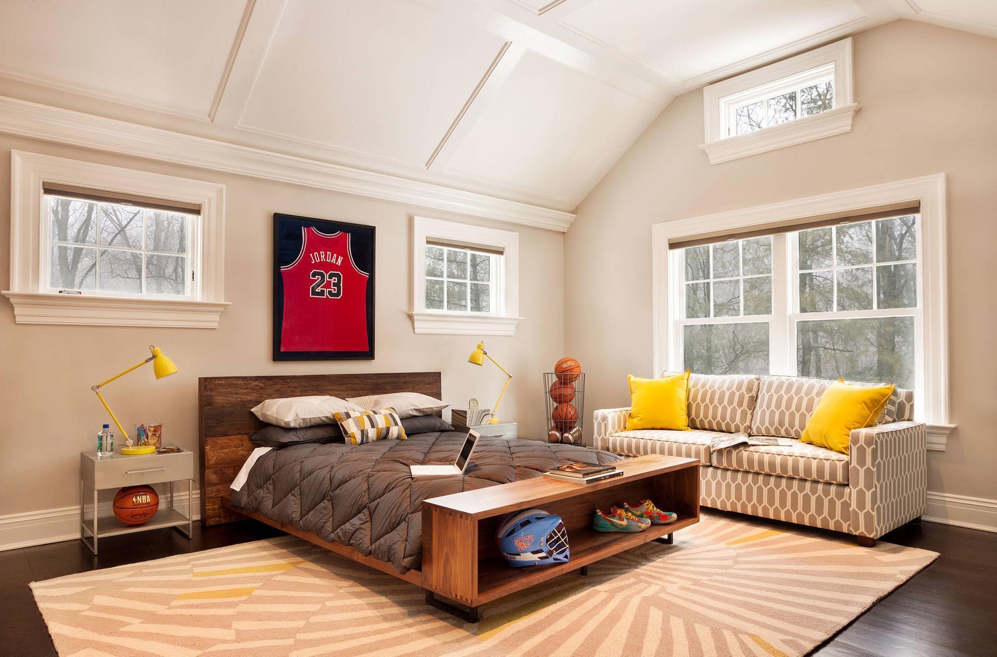 Комната для подростка спортсмена