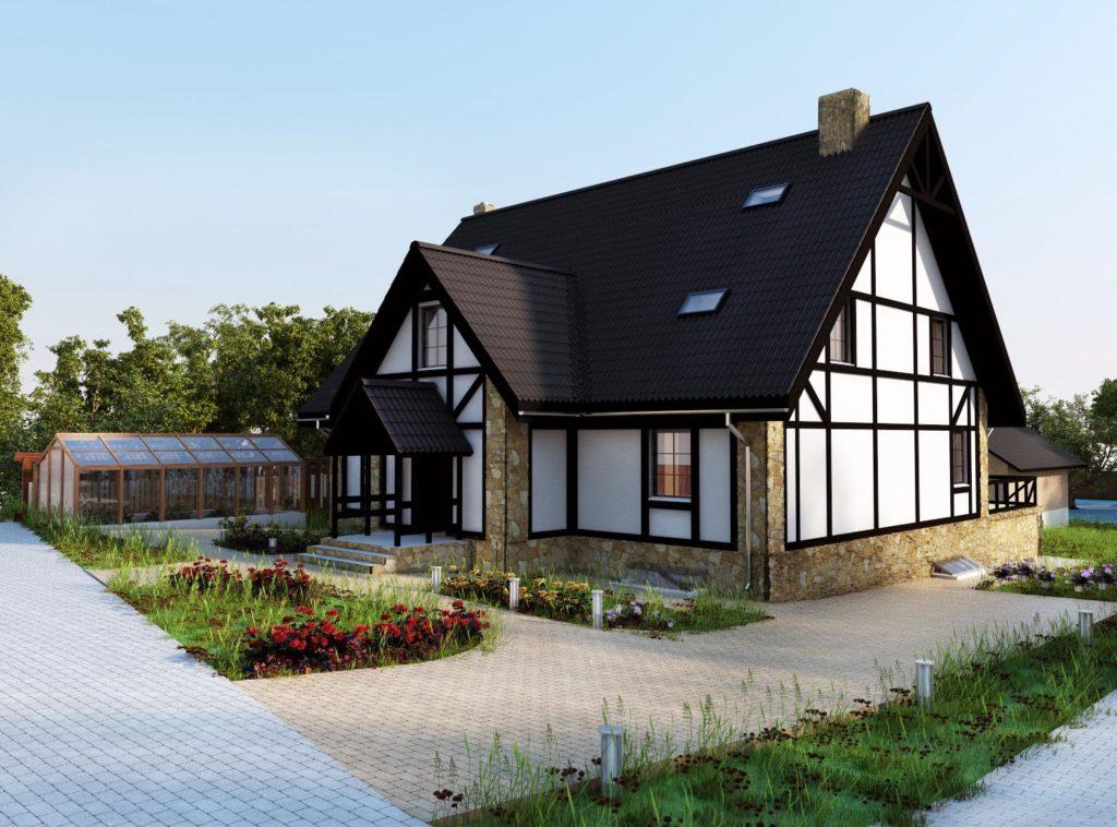 загородные дома в европе фото горах случается что