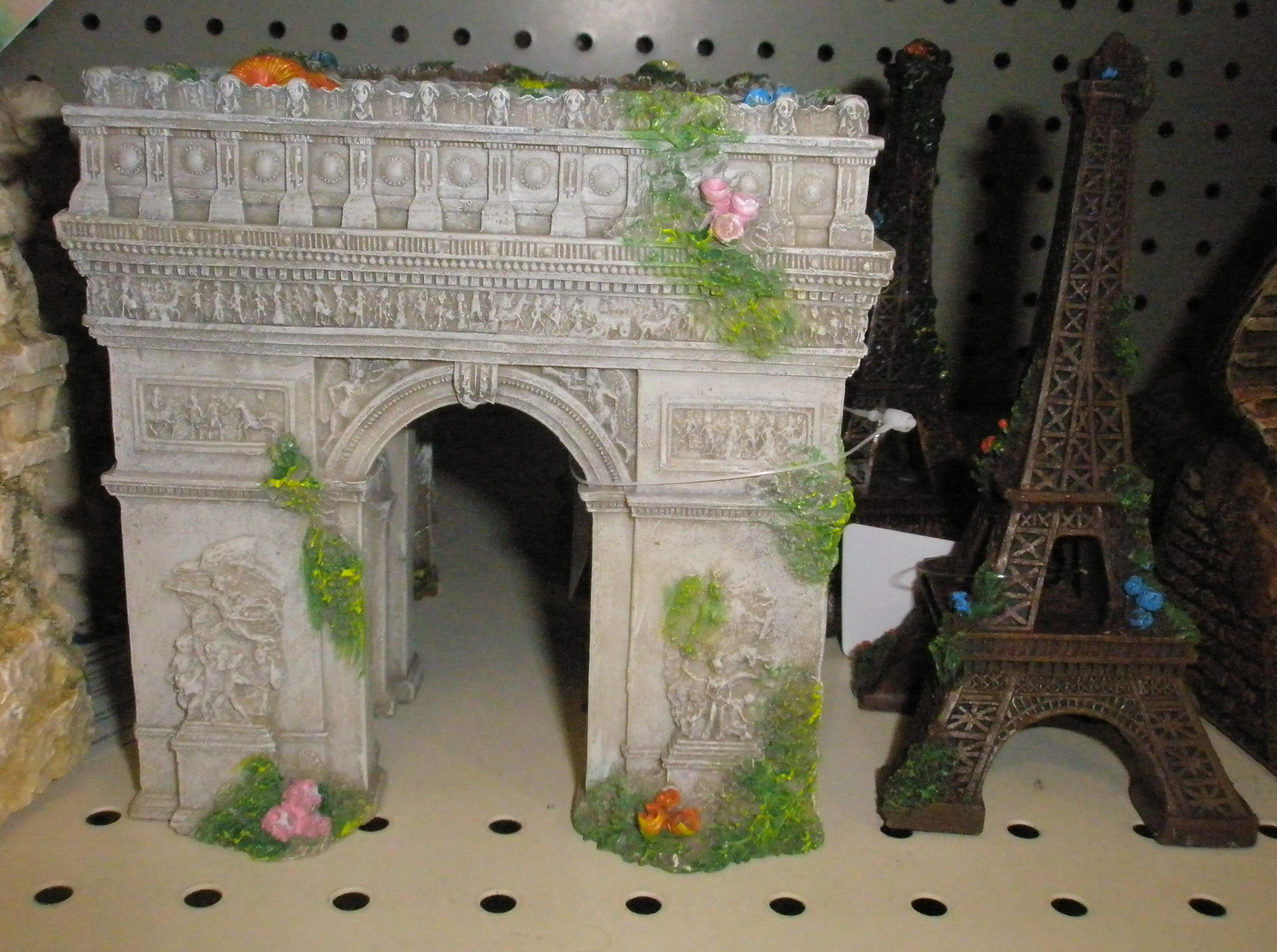 Декор для аквариума арка