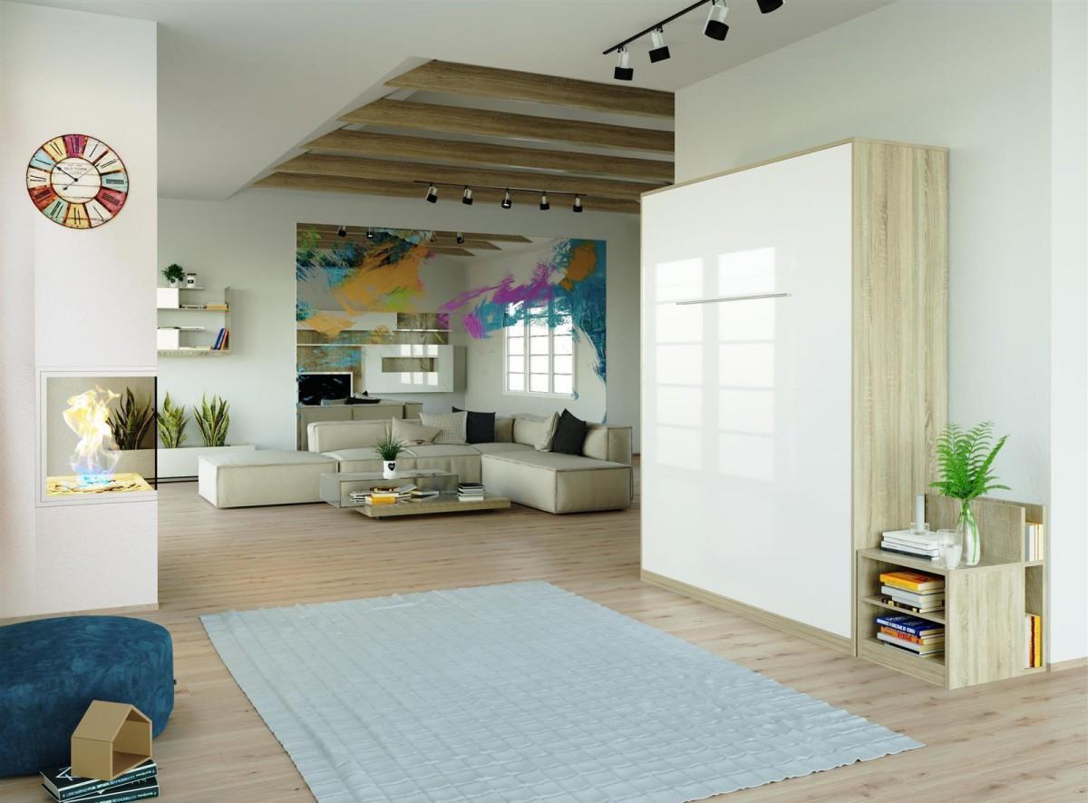 Дуб сонома в интерьере квартиры